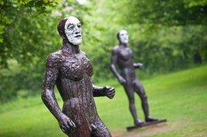 Riace Figures by Elisabeth Fink @ Yorkshire Sculpture Park