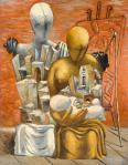 The Painter's Family 1926 by Giorgio de Chirico 1888-1978