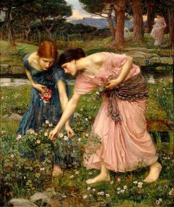 505px-Waterhouse-gather_ye_rosebuds-1909