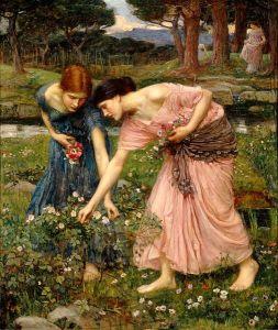 505px-Waterhouse-gather_ye_rosebuds-1909