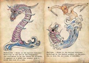 philippine_mythology__bakunawa__i__and_haliya__j__by_binibinieyebagstotz-d4zbpog