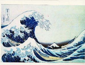 HOKOSAI WAVE OF LIFE