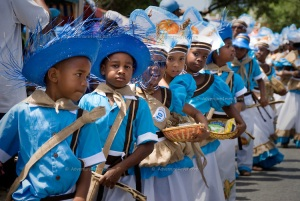Seu harvest festival in Willemstad Curacao, Netherlands Antilles