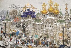 V.Sitnikov_Russian_-Monastery1971