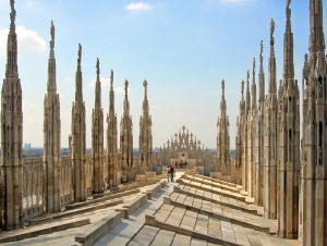 Milan-Cathedral-Roof