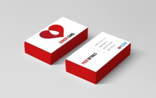 Business-card-red-edges